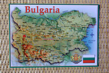 MAP Postcard : BULGARIA