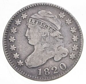 1820 Capped Bust Dime - Walker Coin Collection *002