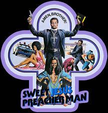 70s Blaxploitation Classic Sweet Jesus, Preacherman Poster Art custom teeAnySize