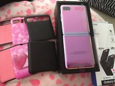 Samsung Galaxy Z Flip SM-F700F/DS - 256GB - Mirror Purple (Unlocked) (Single...