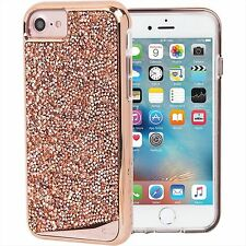 Case-Mate Brilliance Tough Jewel Studded Crystal Case iPhone 7 RoseGold CMO34692