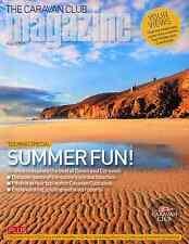 CARAVAN CLUB MAGAZINE AUGUST 2015 . DEVON & CORNWALL . UK BEST BEACHES