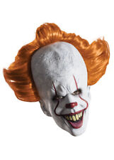 New Pennywise It The Clown Mask with Hair