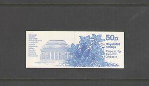 GB: Sc. BK248-Var-1 / 50 PENNY -QE II DECIMAL- Pane of 6 / Folded Booklet /MNH