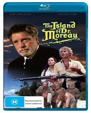 THE ISLAND OF DR. MOREAU (BURT LANCASTER/MICHAEL YORK) (BLU-RAY) NEW!! SEALED!!