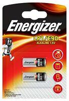 2 Energizer Battery LR1 E90 Batteries Pack of 2 Alkaline 1.5V Camera Calculator