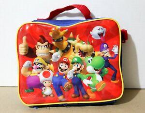 Nintendo Licensed Super Mario Bros. Luigi Donkey Kong Bowser Lunchbox