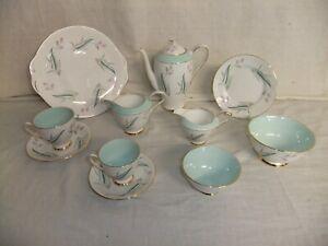 c4 Porcelain Royal Standard - Enchantment - vintage gilded china tableware 6E5A