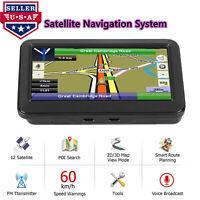 NOVPEAK 5 Inch+8GB GPS Navigator for TRUCK Long Haul All US Map FM Driver Alerts