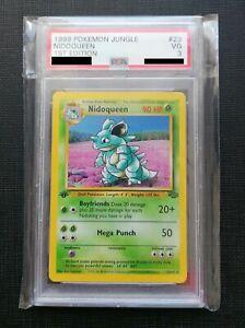 PSA 3 - Nidoqueen - 1ST EDITION - 1999 Pokemon Jungle