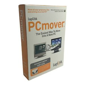 2006 Laplink PCmover - Includes USB LapLink Cable - Move Into A New PC Made Easy