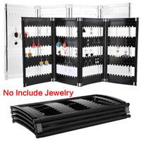 1PC 120/180/240 Holes Jewelry Shelf Screen Holder Display Stand Organizer Rack