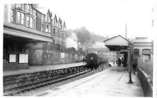AB1 Real Railway Photograph GW Llangollen Station 21-6-1936