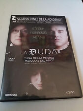 "DVD ""LA DUDA"" COMO NUEVO JOHN PATRICK SHANLEY MERYL STREEP PHILIP SEYMOUR HOFFMA"