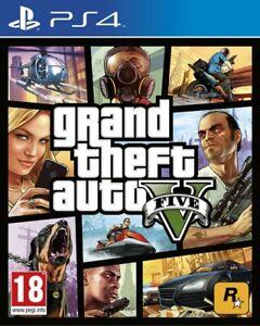 PS4 PS5 Grand Theft Auto V - GTA 5 (PlayStation 4 & 5)