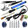 60W 220V EU US Plug Thermostat Electric Soldering Iron Starter Hand Tool Kit Set