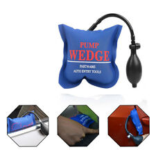 Air Wedge Alignment Tool Inflatable Shim Air Cushioned Powerful Hand Pump Blue