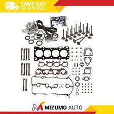 Head Gasket Set Valves Timing Belt Kit Fit 93-97 Mazda 626 MX6 Ford 2.0L DOHC FS