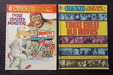 1977 CRACKED Collector's Edition Magazine #17 FVF #18 FN+ Dell Humor LOT of 2