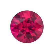 Superbe rubis 100% naturel , taille diamant/0,10 carat