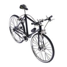 Échelle 1:10 Miniature Vélo Vélo Modèle Enfants Jouet Creative Noir