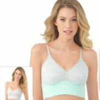 81765e86ca Lily of France Sensational 2-pack Lace Bralettes 2179106 Teal   Nickel Size  M