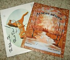 Vintage~Lot Of 2 Tole Painting Booklets~Almost Heaven~To Whom Brush Toles~Lot #H