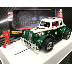 Pioneer P119 Santa Legends '34 Ford Coupe Hollybush Slot Car 1/32 Scalextric DPR