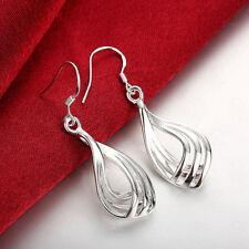 Wholesale New Fashion Hot Sale Women Silver Plated Hoop Dangle Earring