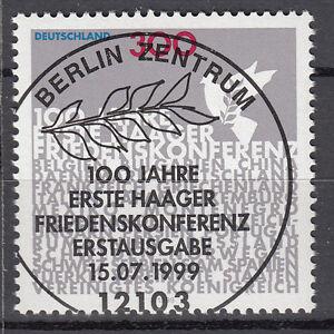 BRD 1999 Mi. Nr. 2066 gestempelt BERLIN Sonderstempel , mit Gummi (17631)