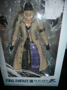 FINAL FANTASY XIII PLAY ARTS SNOW ACTION FIGURE NEW