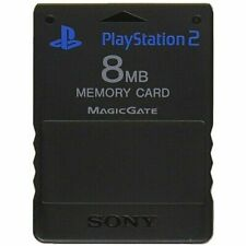 Official Sony PlayStation 2 Memory Card Genuine (PS2) K68