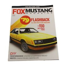 Fox Mustang Magazine Issue 6 1979 1989 Saleen SSP Vanilla Ice 87 88 90 91 92 93