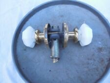 Used Milk Glass Lock Set Milk Glass Lockset Old Door Lock