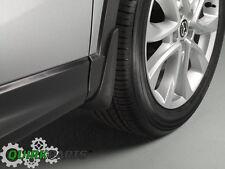 2013-2016 Mazda CX-5 Front & Rear Splash Guards Mud Flaps KD33V3460A 00008HR10