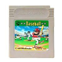 Baseball Nintendo Game Boy GB Gameboy Japanese Video Game 1989 Sports Japan