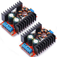 2X DC-DC Boost Converter 150W 10A 10V-32V to 12V-35V Step Up Power Supply Module