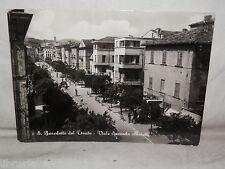 Vecchia cartolina foto d epoca di S Benedetto del Tronto Viale Secondo Moretti