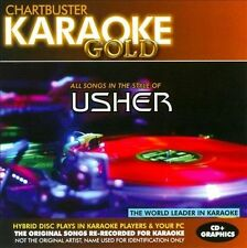 NEW Karaoke Gold: Songs in the Style of Usher (Audio CD)