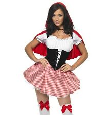 Womens Red Riding Hood Fancy Dress Costume Ladies Fairytale Outfit Smiffys 38490 L - Large