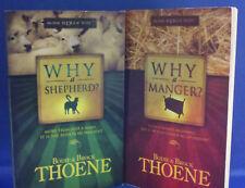 Why A Shepherd/Why A Manger Books- Bodie & Brock Thoene