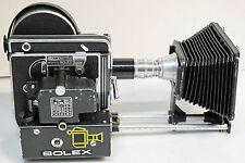 CAMERA PAILLARD BOLEX - H16 REFLEX  - 16 mm - 1957 + MOTEUR  MCE 17B - N° 132496