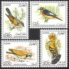 Argelia 1977 Aves/Naturaleza/abubilla/Lark/Vida Salvaje/Conservation 4 V Set (n32102)