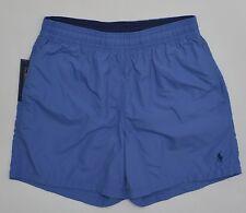 Men's POLO RALPH LAUREN Steel Blue Swimsuit Trunks L Large NWT NEW Nice!