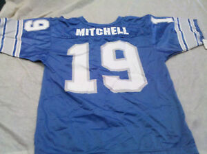 SCOTT MITCHELL #19 RETRO YOUTH DETROIT LIONS NFL WILSON JERSEY FREE SHIPPING