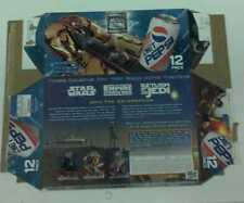 Diet Pepsi & Pepsi vintage 12 pack Star wars box