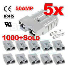 5X 12-24V Premium Exterior 50AMP Anderson Plug Style Connector DC Power