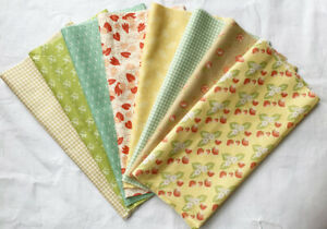 Moda Fabrics by Fig Street Quilts. Fat 1/8 pack -1 metre. Patchwork. Cotton.