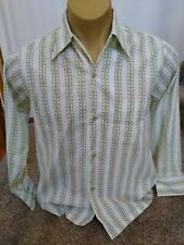 Vintage Haband Long Sleeve Button Down Shirt Medium