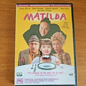 Matilda Deluxe Widescreen DVD R4 - Very Good - FREE POST